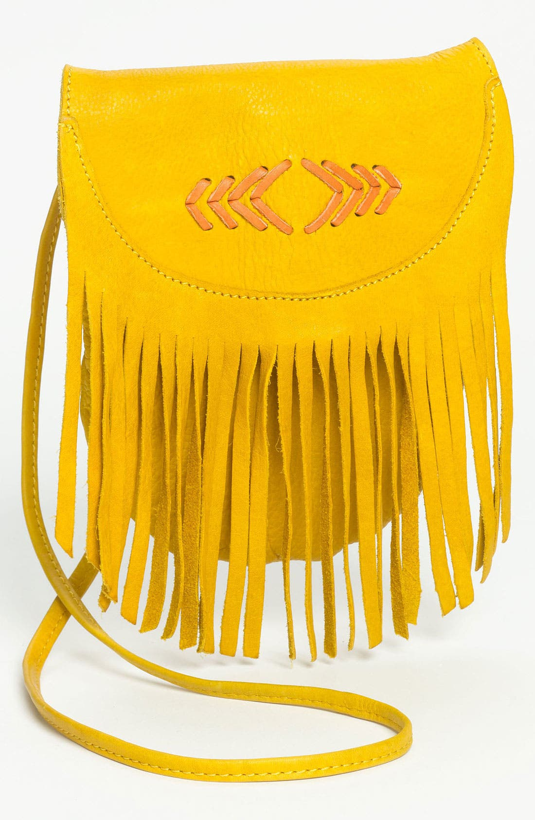 Alternate Image 1 Selected - Cut N' Paste Fringe Crossbody Bag