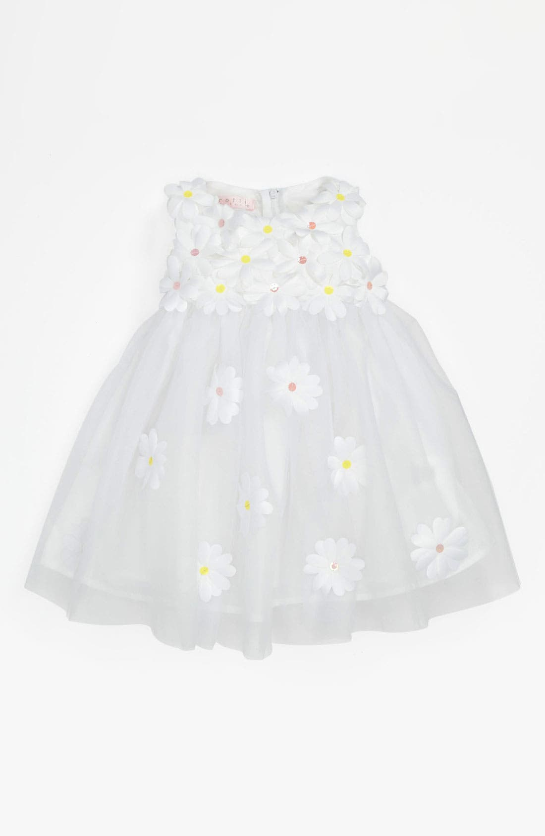 Alternate Image 1 Selected - Biscotti 'Crazy For Daisies' Dress (Baby Girls)