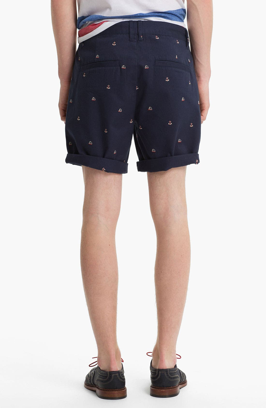 Alternate Image 2  - Topman 'Anchor Boat' Shorts