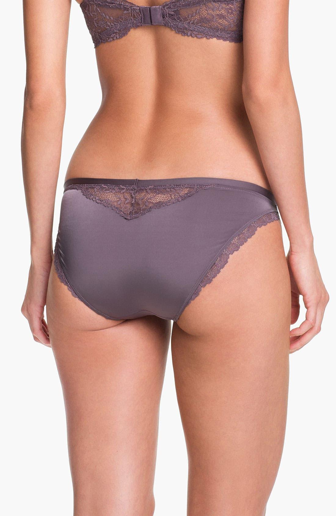 Alternate Image 2  - Calvin Klein 'Seductive Comfort' Lace Trim Bikini