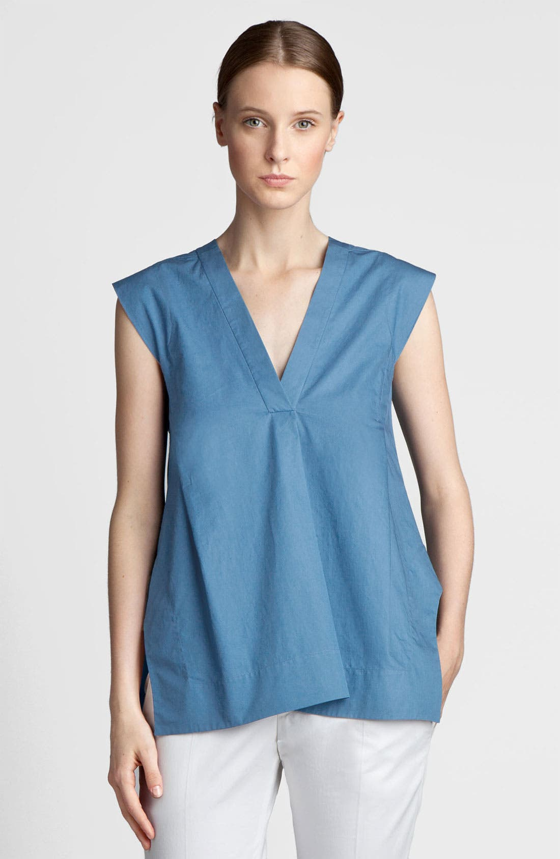 Alternate Image 2  - Jil Sander Washed Cotton Tunic