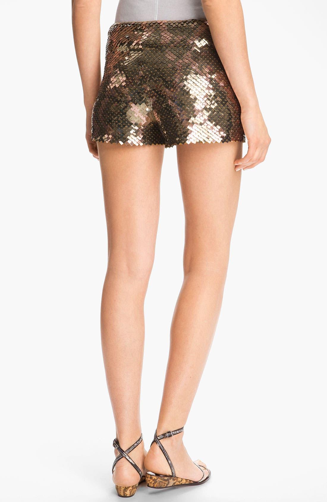Alternate Image 3  - Haute Hippie Sequin Shorts