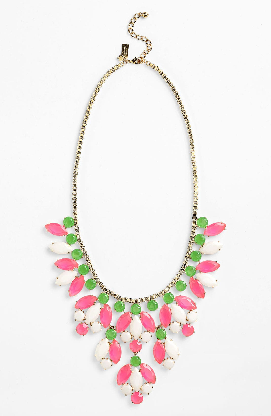 Main Image - kate spade new york 'marquee' bib necklace