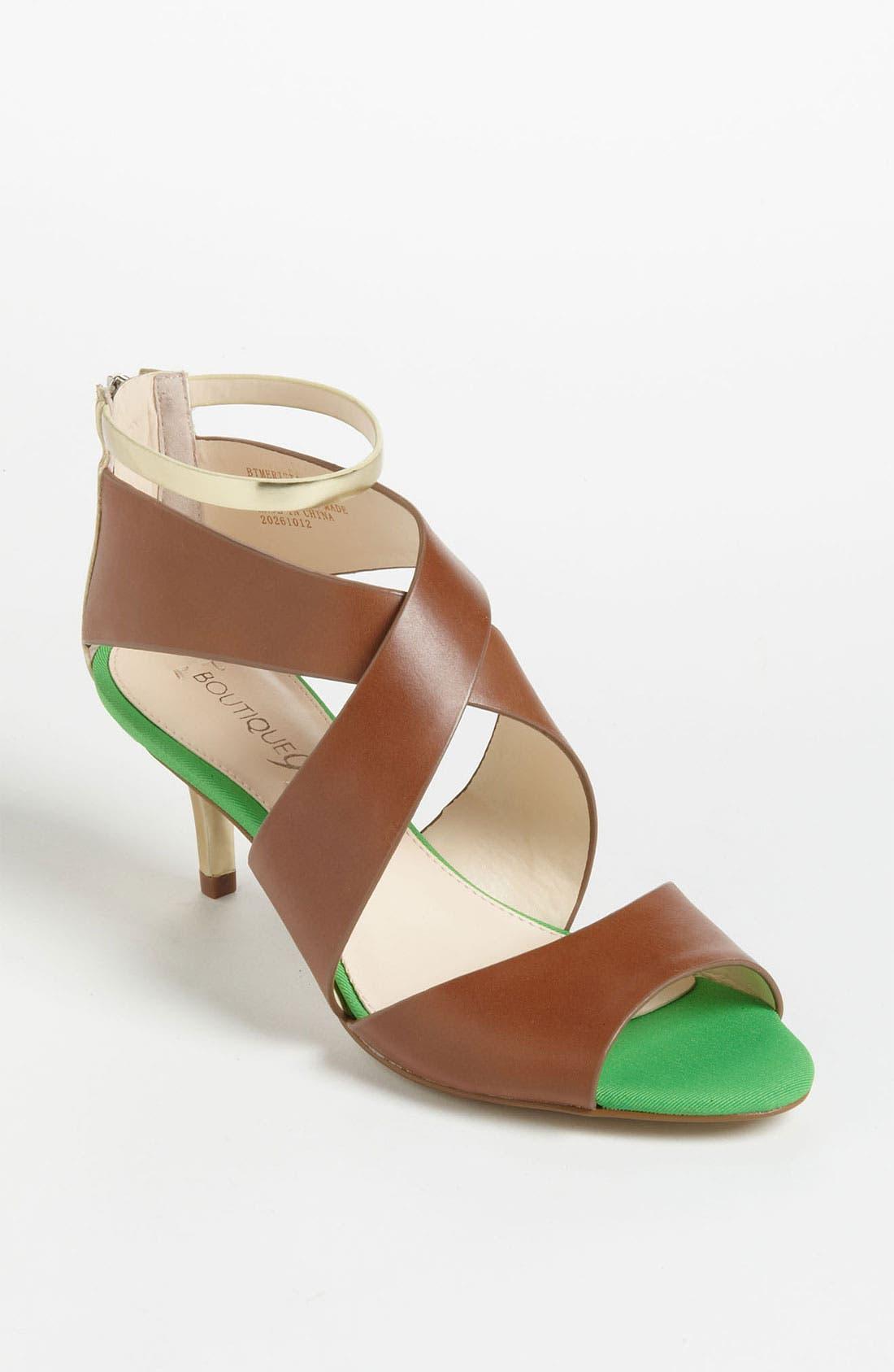 Main Image - Boutique 9 'Merista' Sandal