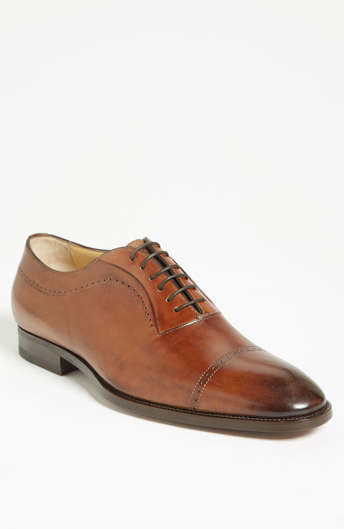 Alternate Image 1 Selected - Santoni 'Radcliffe' Cap Toe Oxford