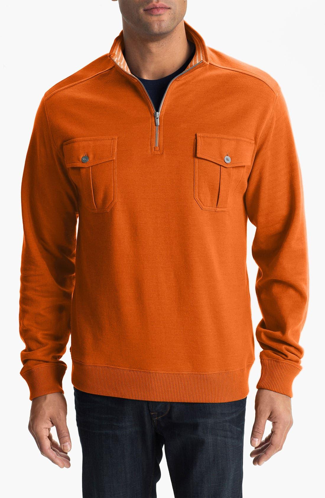 Alternate Image 1 Selected - Cutter & Buck 'Viewlands' Half Zip Pullover