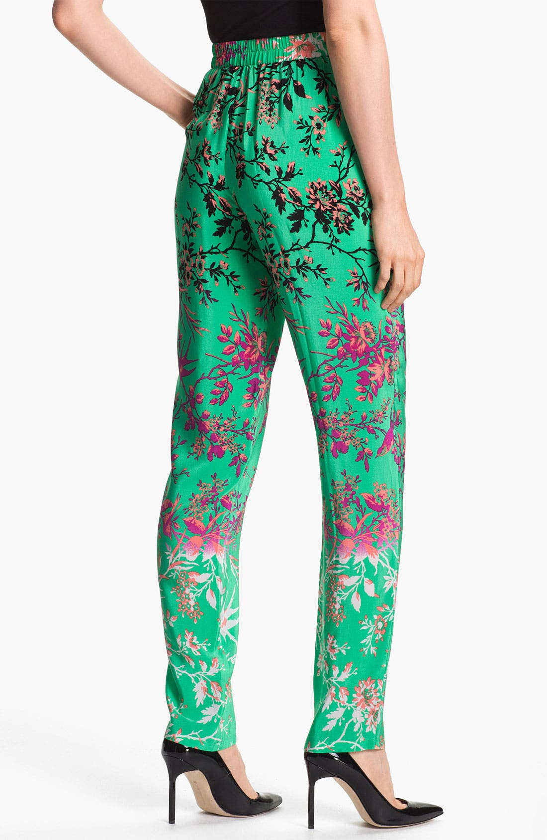 Alternate Image 2  - Nanette Lepore 'Ladi Dadi' Silk Pants