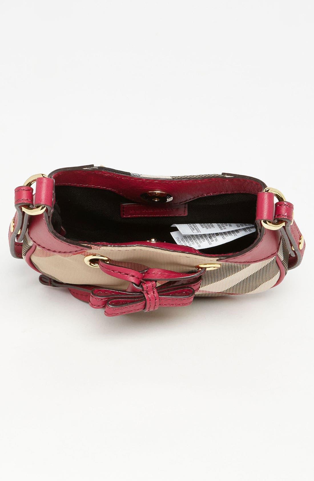 Alternate Image 3  - Burberry 'Ruby' Mini Shoulder Bag (Girls)