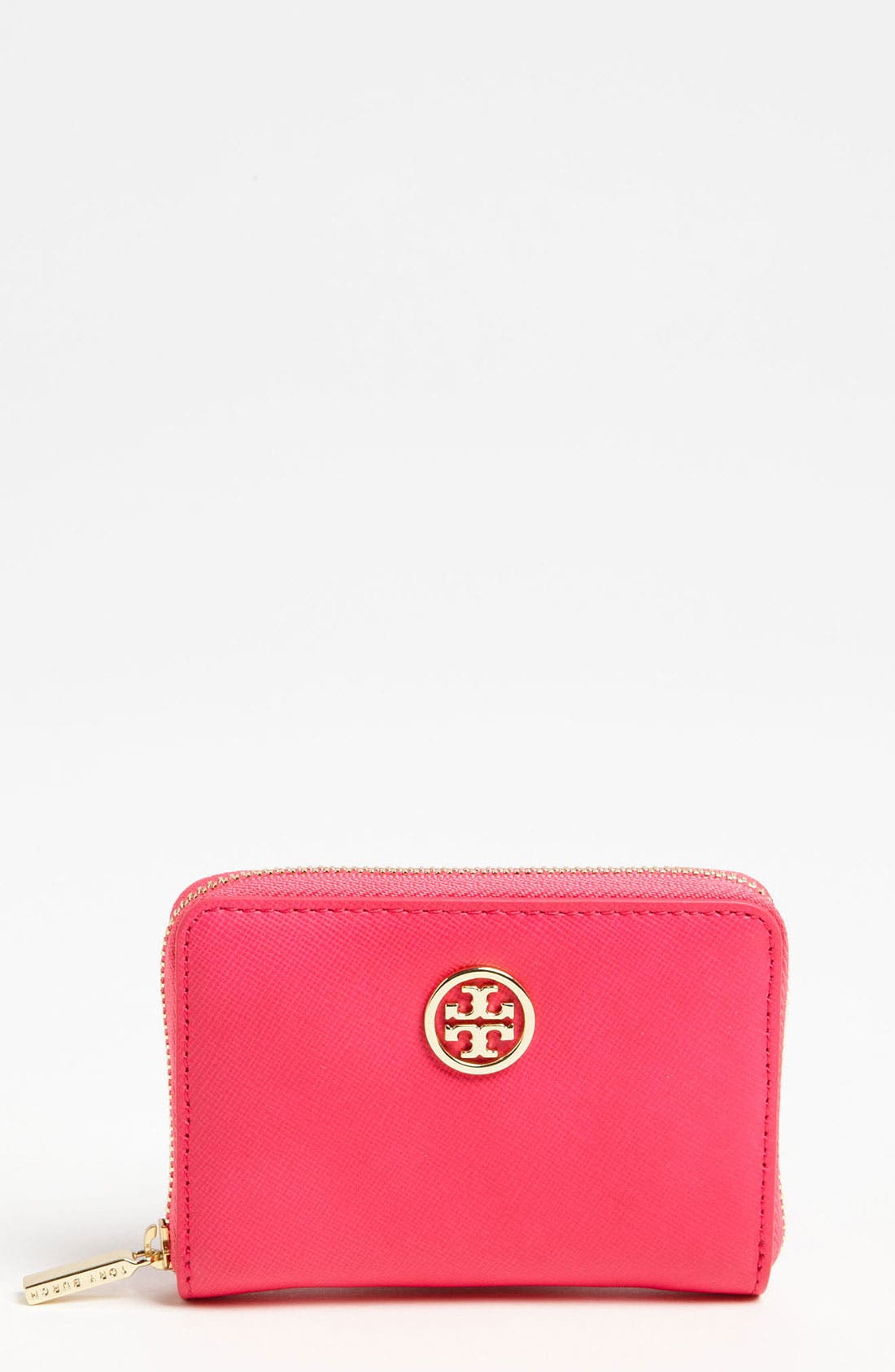 Alternate Image 1 Selected - Tory Burch 'Robinson' Zip Coin Case