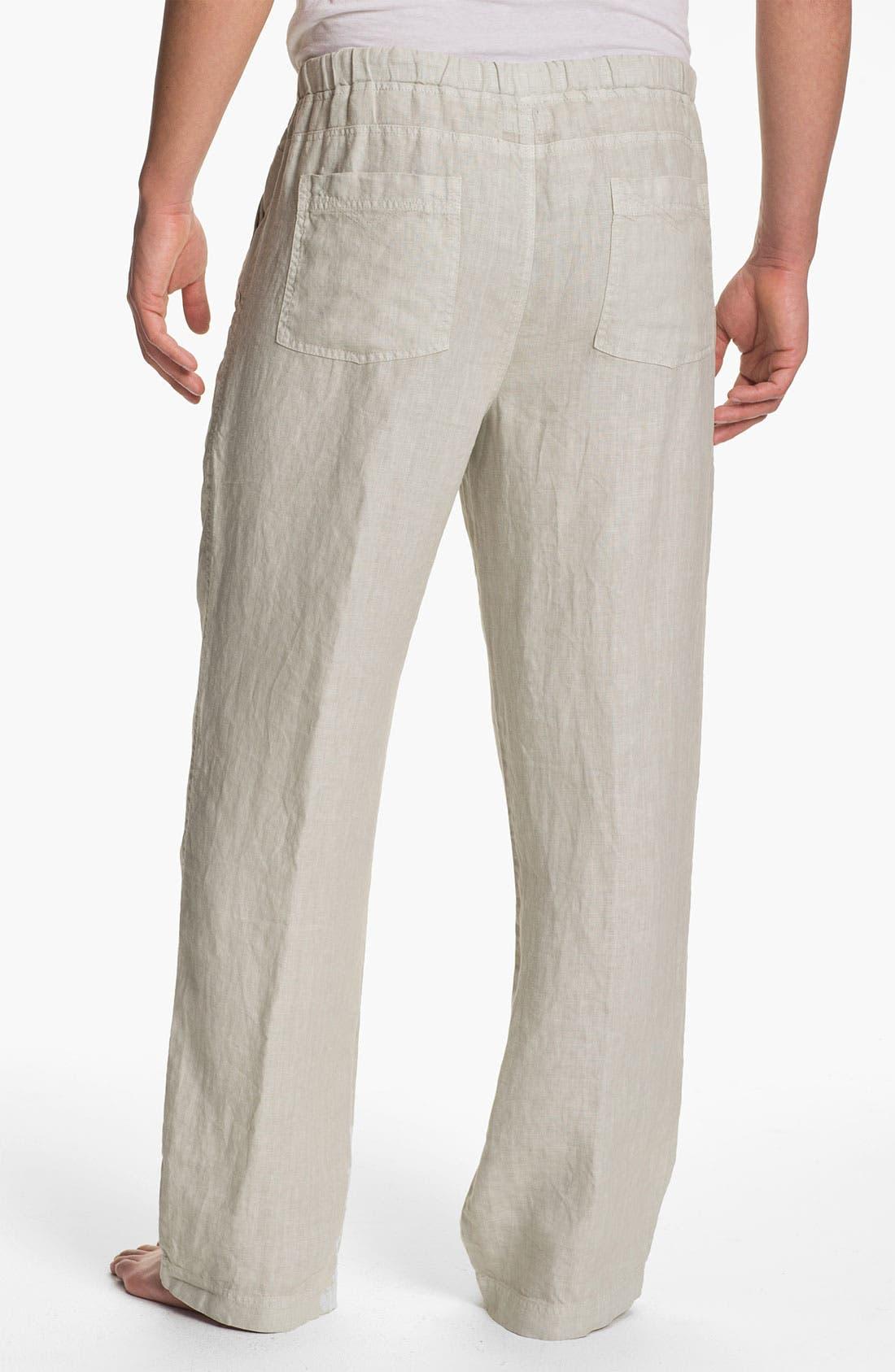 Alternate Image 2  - Daniel Buchler Linen Pants