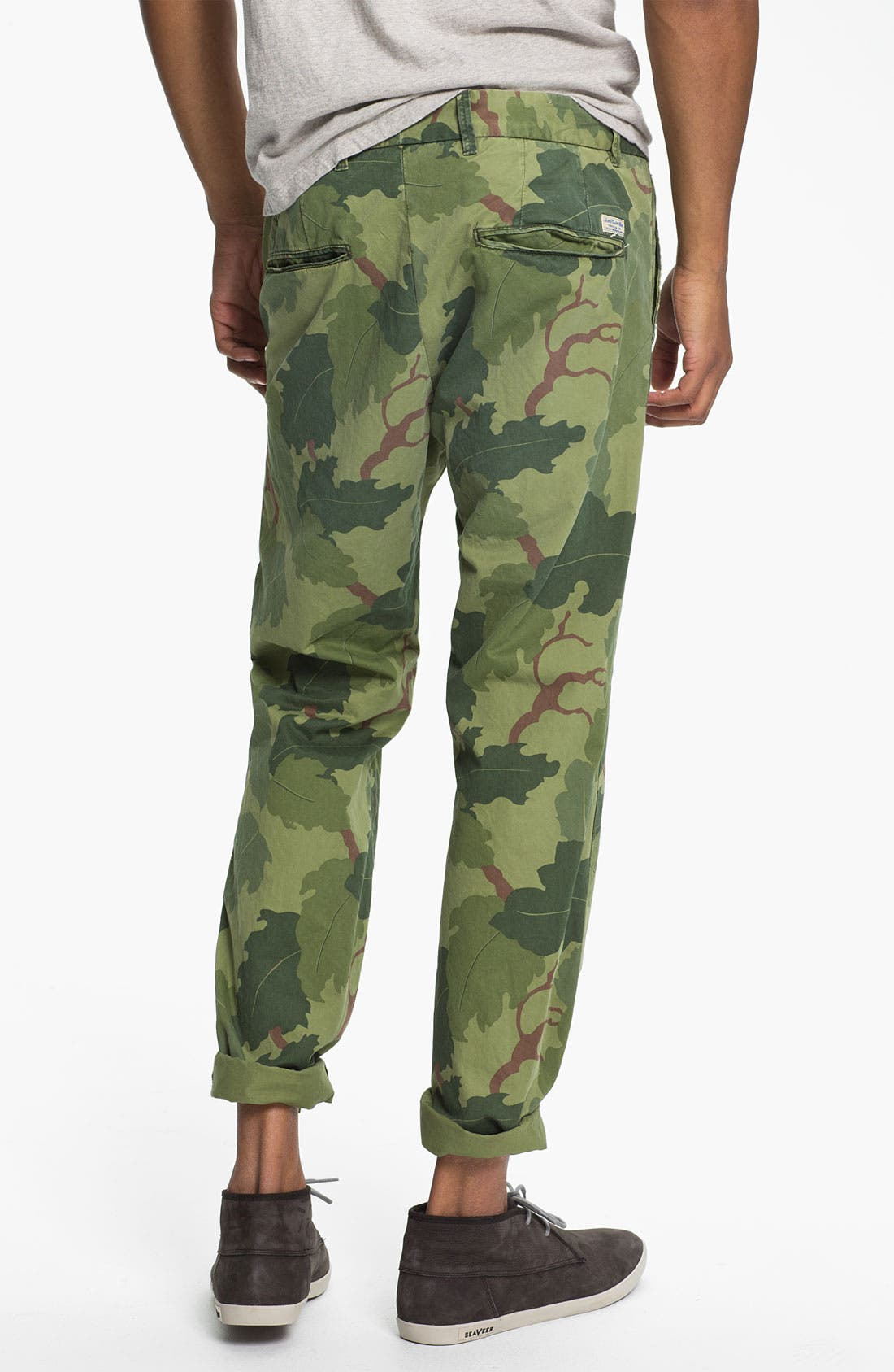 Alternate Image 2  - Scotch & Soda 'Bowie' Camo Print Slim Straight Leg Chinos