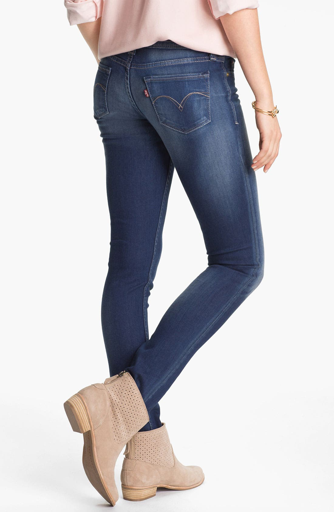 Alternate Image 1 Selected - Levi's® Stretch Denim Skinny Jeans
