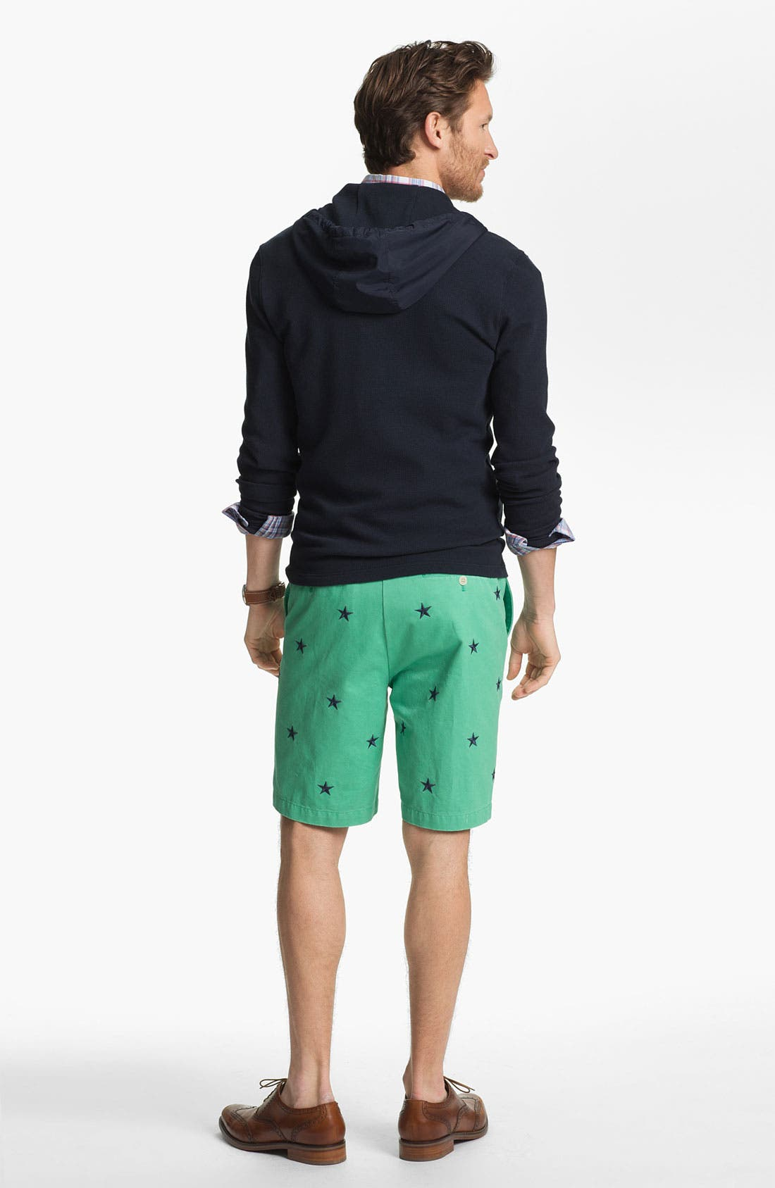 Alternate Image 3  - Vineyard Vines Regular Fit Embroidered Shorts