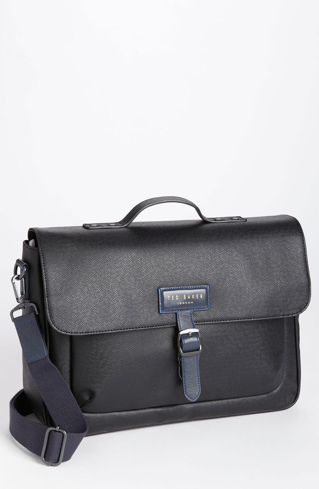 Alternate Image 1 Selected - Ted Baker London 'New Grain' Messenger Bag