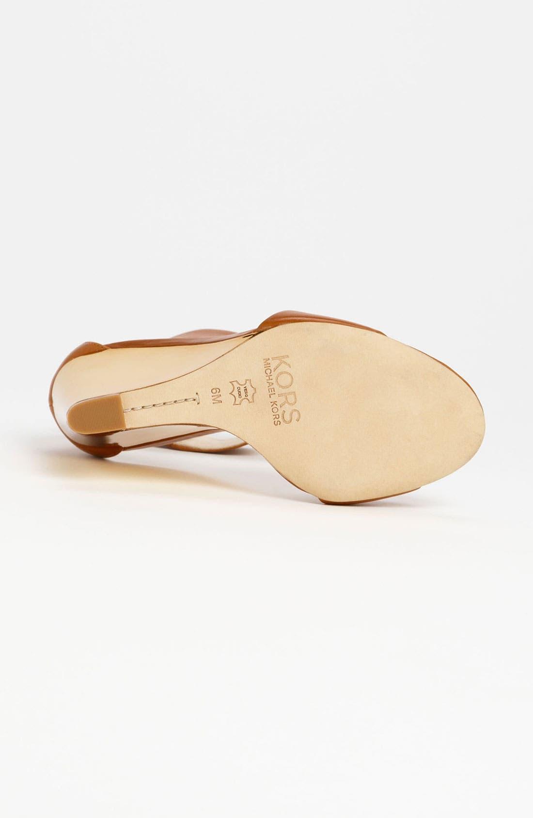 Alternate Image 4  - KORS Michael Kors 'Rosalie' Sandal