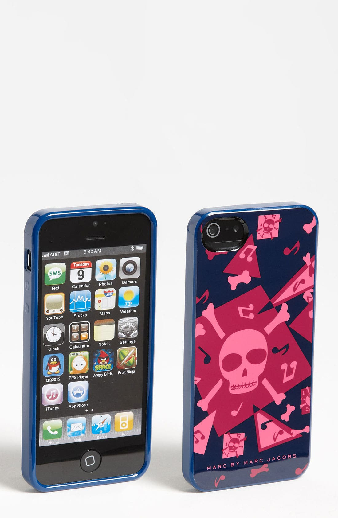 Alternate Image 1 Selected - MARC BY MARC JACOBS 'Bones' iPhone 5 & 5S Case