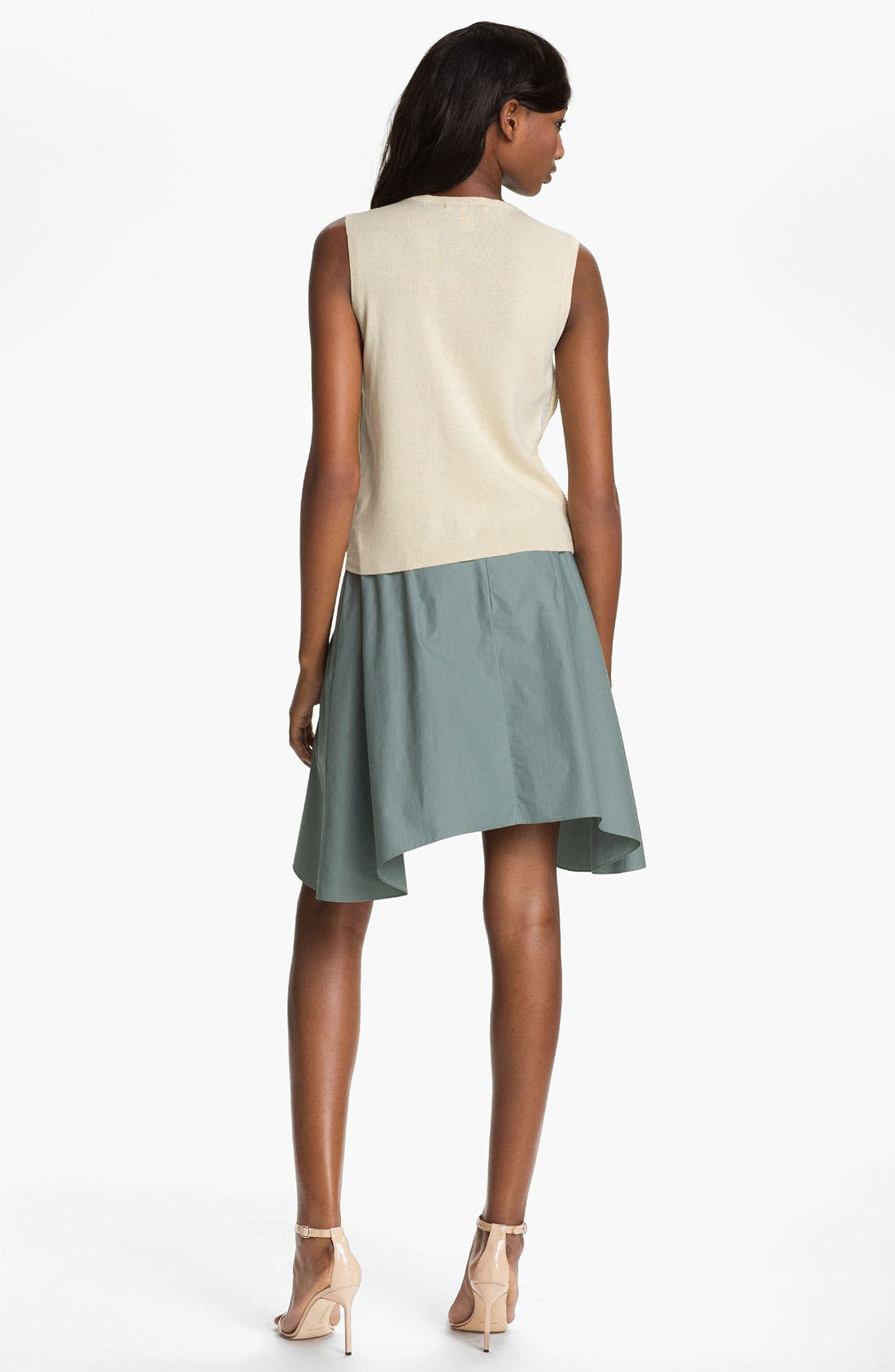 Alternate Image 2  - Carven Sleeveless Embroidered Rope Sweater