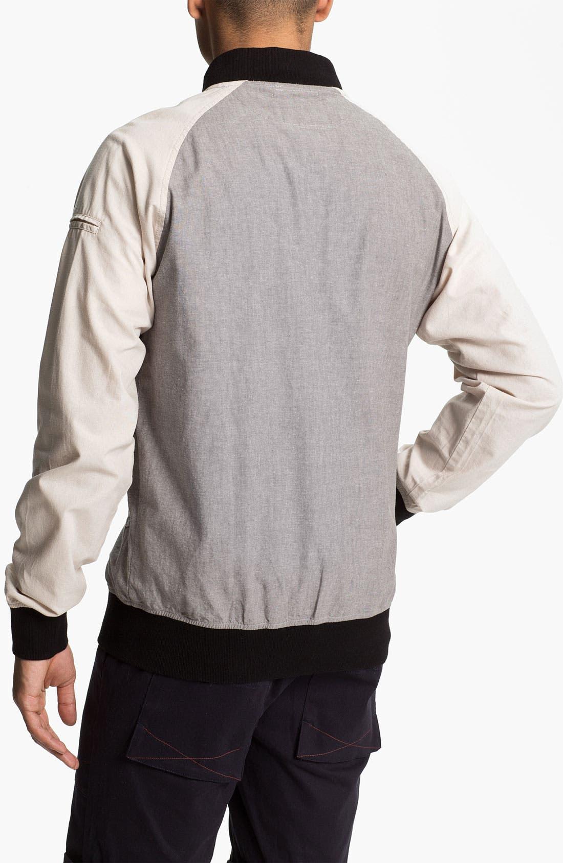 Alternate Image 2  - Ezekiel 'Zano' Colorblock Bomber Jacket