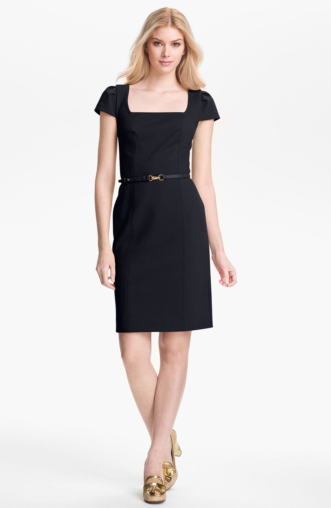 Alternate Image 1 Selected - Tory Burch 'Heather' Stretch Sheath Dress