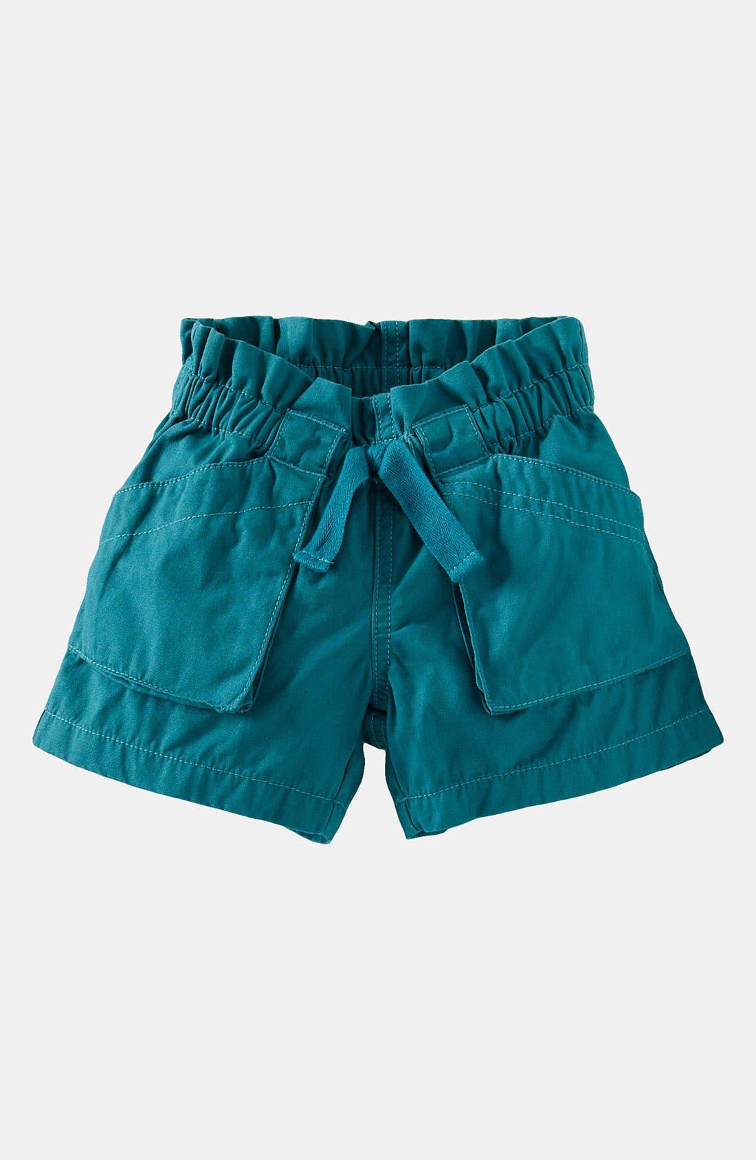 Main Image - Tea Collection Utility Shorts (Toddler, Little Girls & Big Girls)
