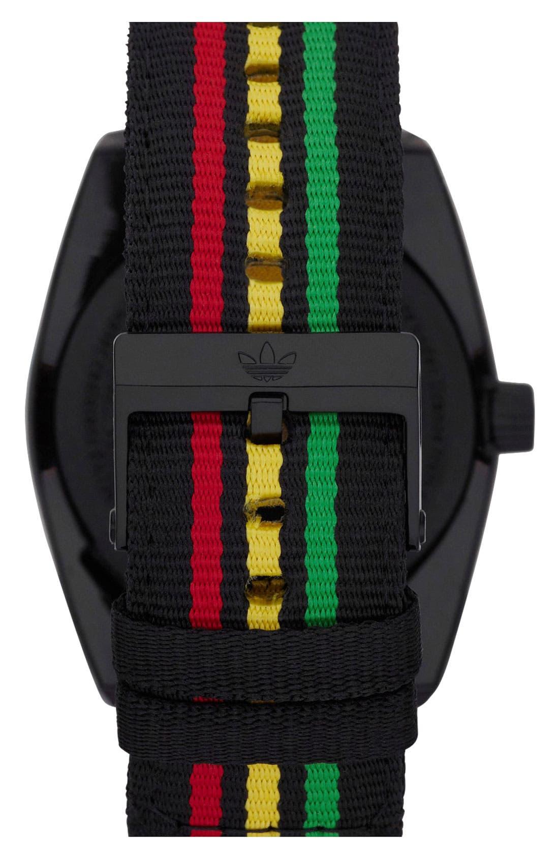 Alternate Image 3  - adidas Originals 'Santiago' Nylon Strap Watch, 42mm