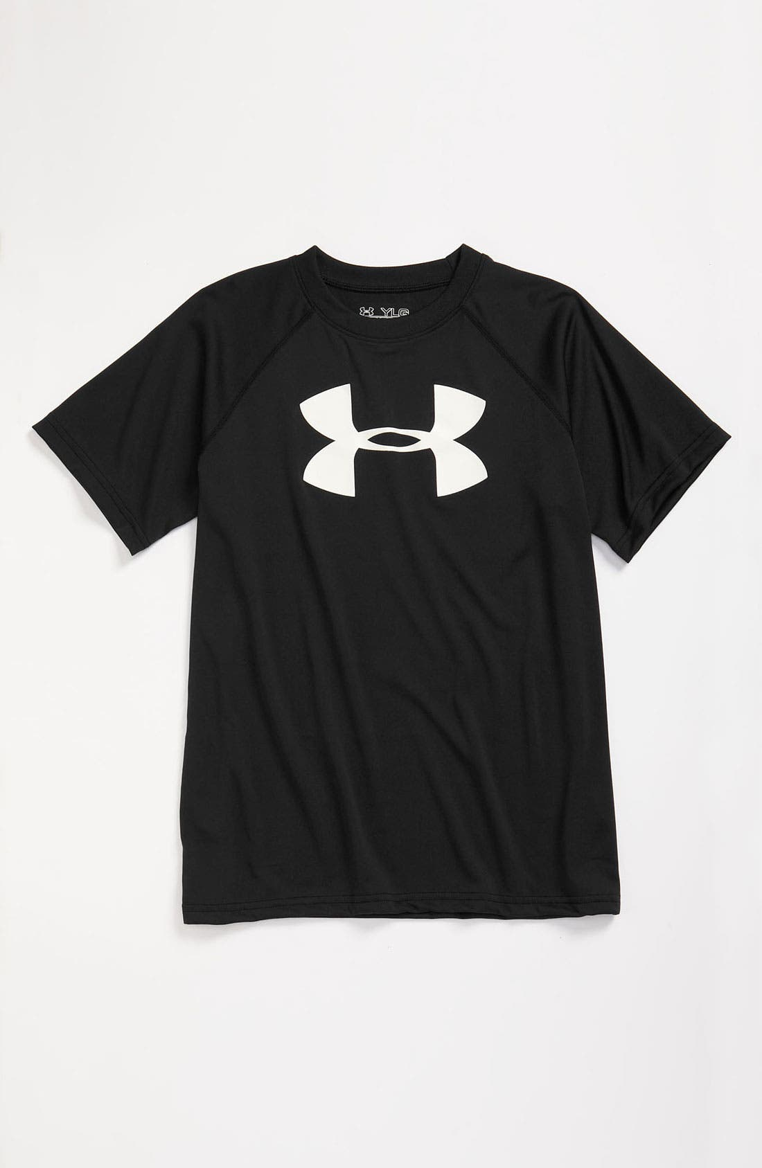Main Image - Under Armour HeatGear® T-Shirt (Little Boys)