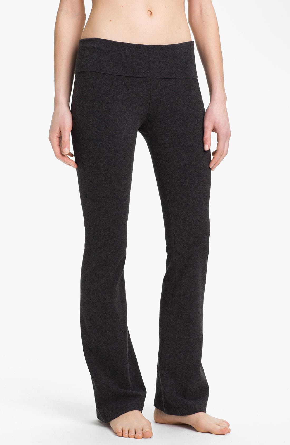 Alternate Image 1 Selected - Hard Tail Bootcut Flare Knit Pants