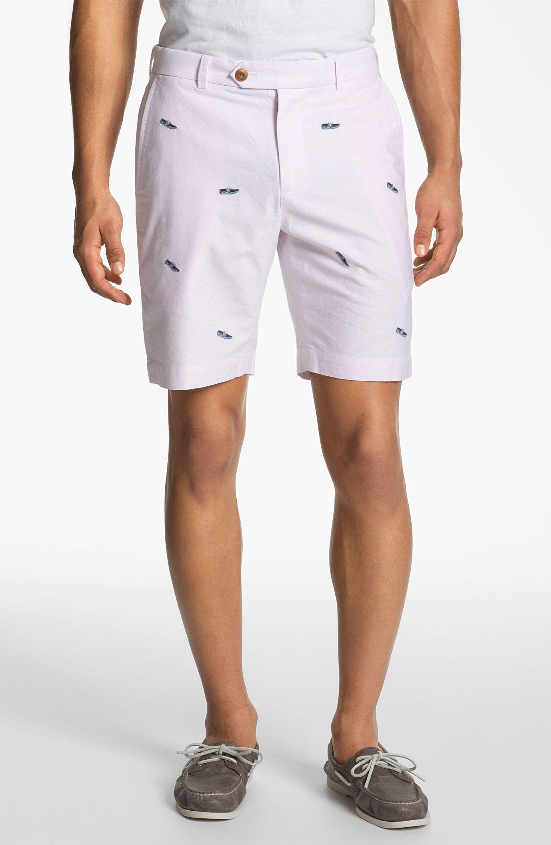 Alternate Image 1 Selected - Brooks Brothers 'Boat Shoe' Shorts