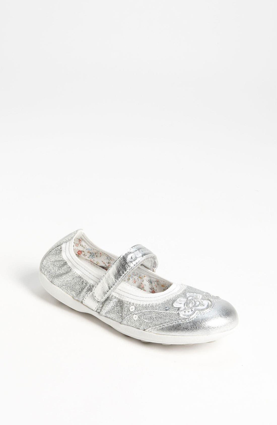 Alternate Image 1 Selected - Geox Junior 'Jodie' Mary Jane Sneaker (Toddler & Little Kid)