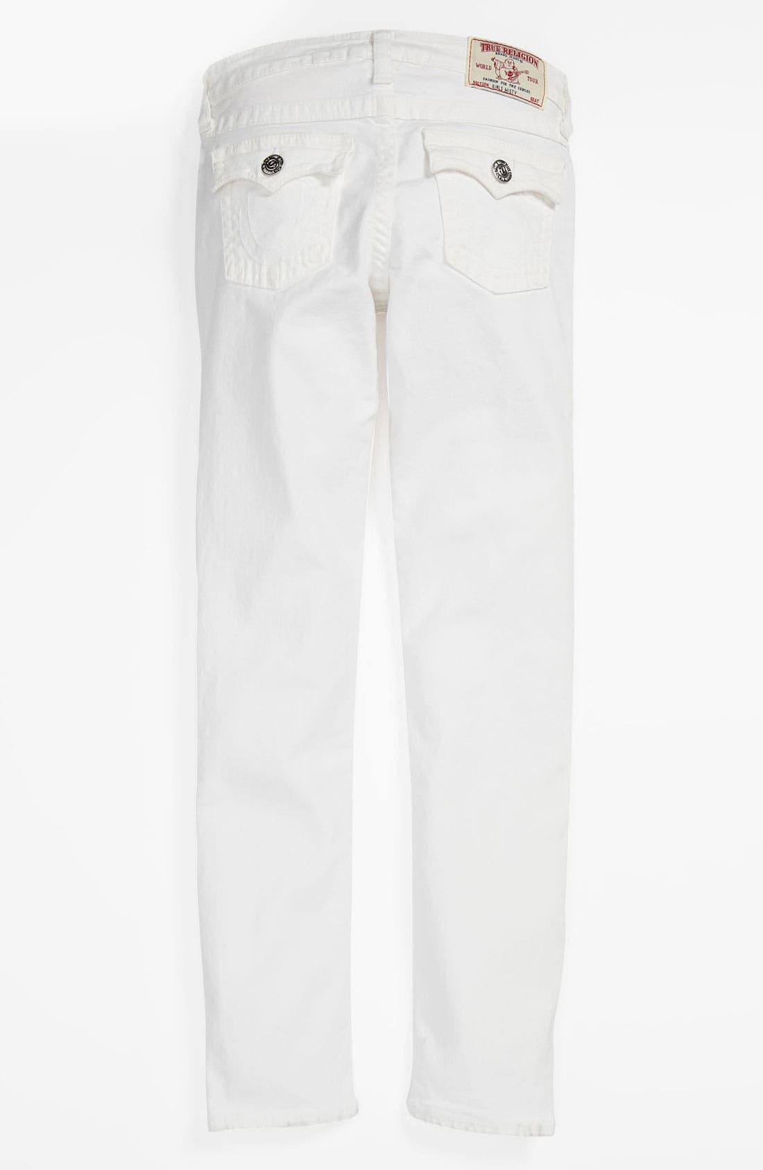 Alternate Image 1 Selected - True Religion Brand Jeans 'Misty' Skinny Leg Jeans (Little Girls & Big Girls)
