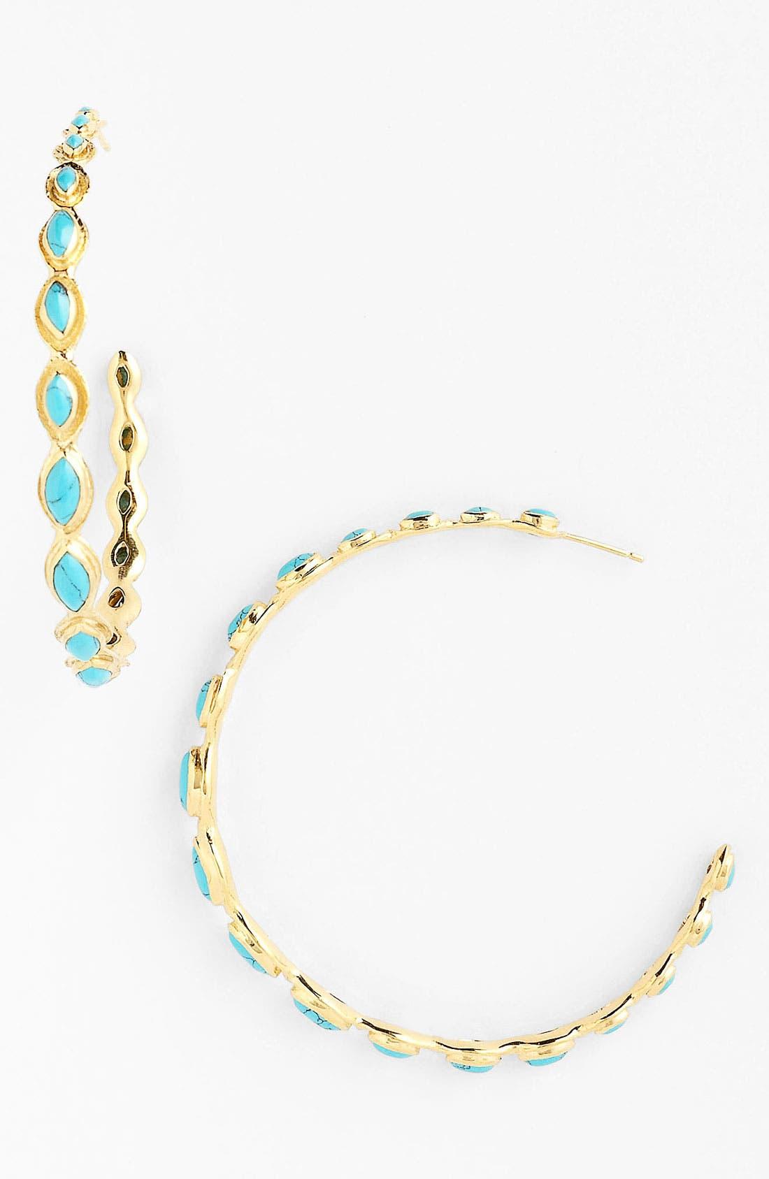 Alternate Image 1 Selected - Melinda Maria 'Gwyneth' Large Hoop Earrings
