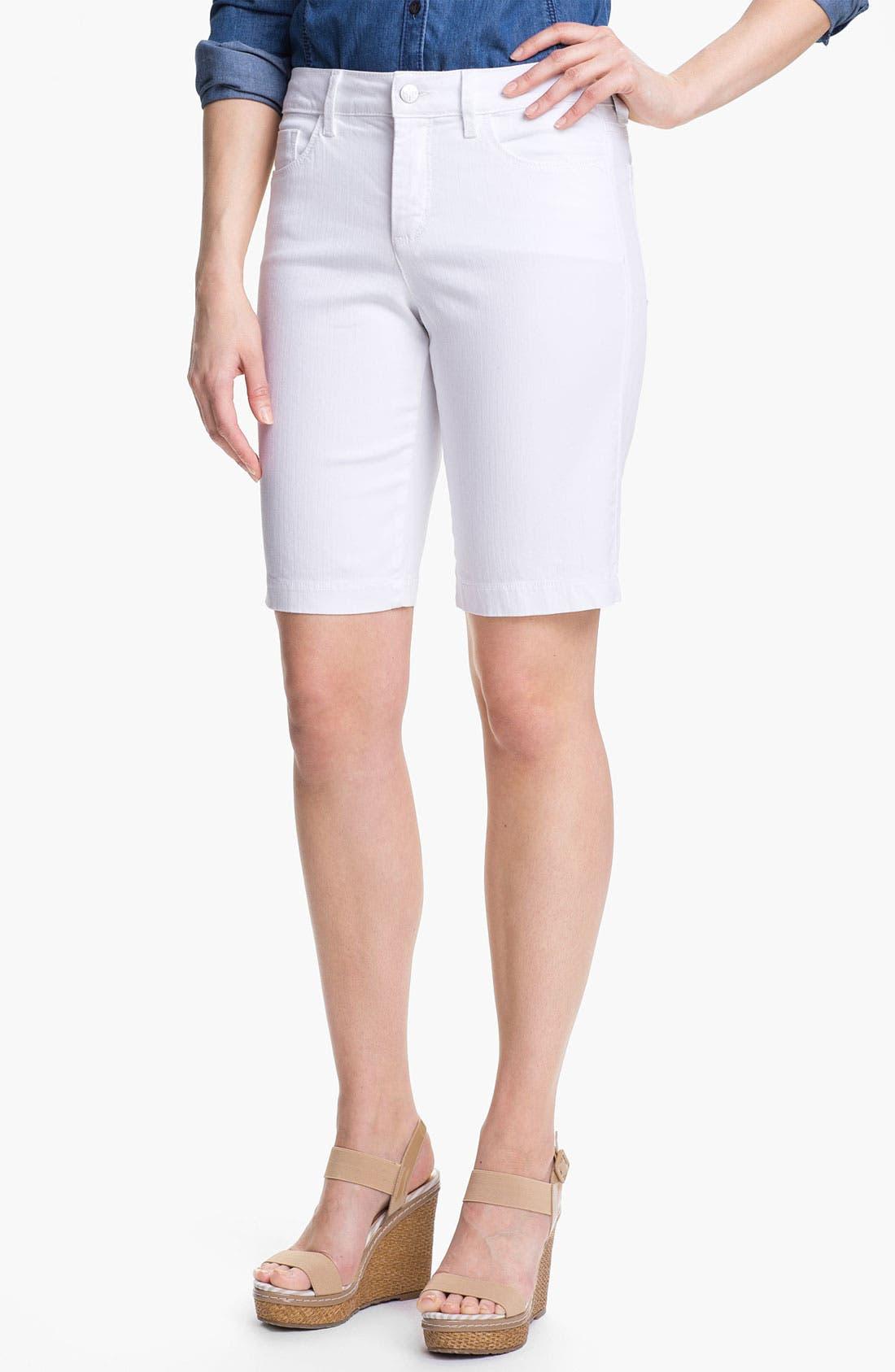 Alternate Image 1 Selected - NYDJ 'Helen' Stretch Denim Shorts