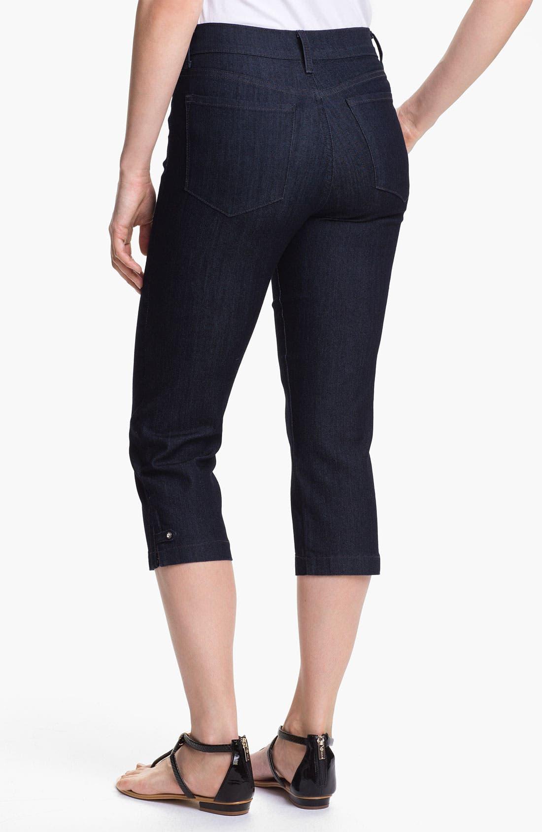 Alternate Image 2  - NYDJ 'Winona' Crop Stretch Jeans