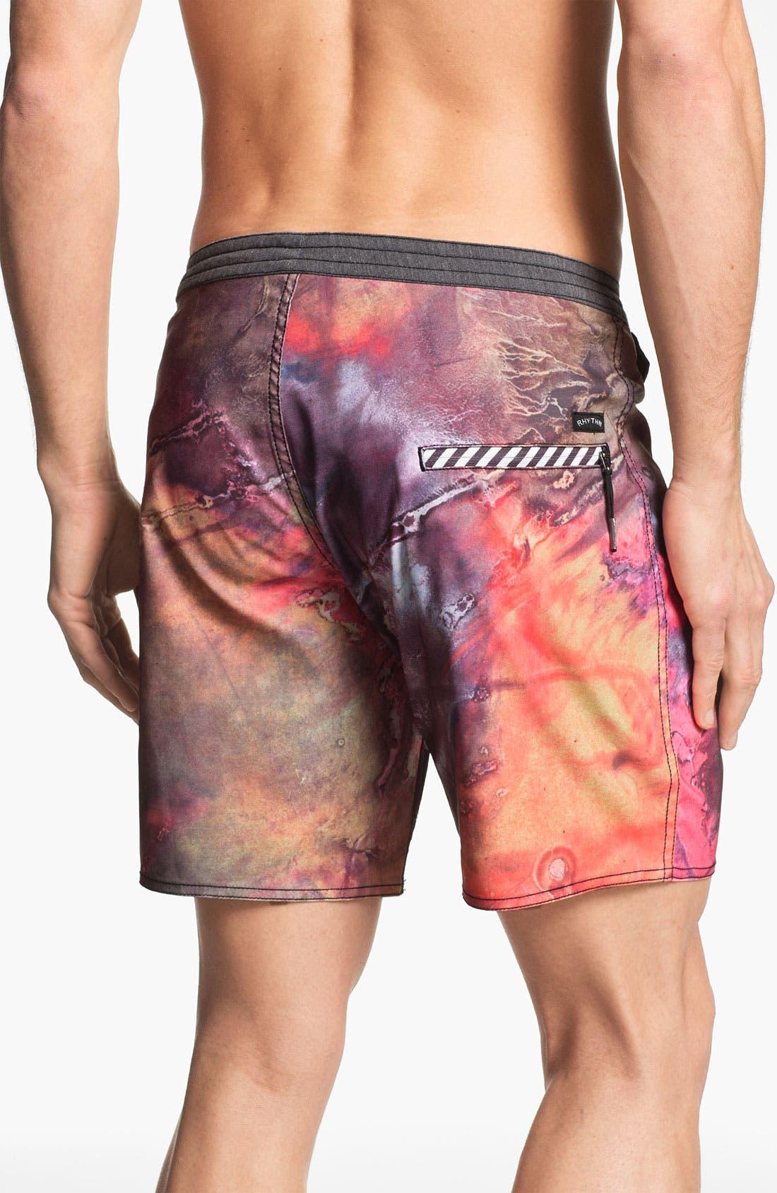 Alternate Image 2  - Rhythm 'Acid Fade' Board Shorts