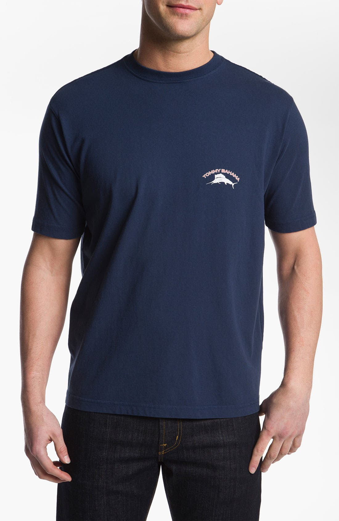 Alternate Image 2  - Tommy Bahama '20 Years of Relaxation' Cotton T-Shirt