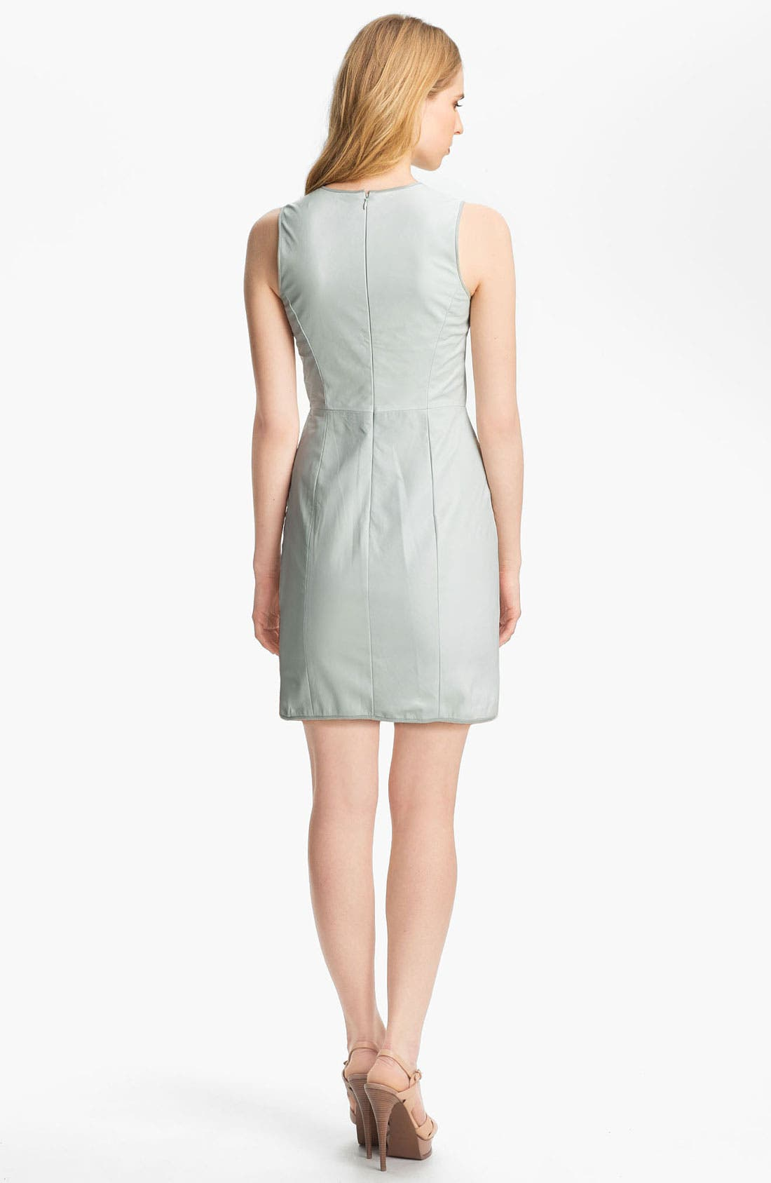 Alternate Image 2  - Theyskens' Theory 'Dimo Nexcel' Leather Dress