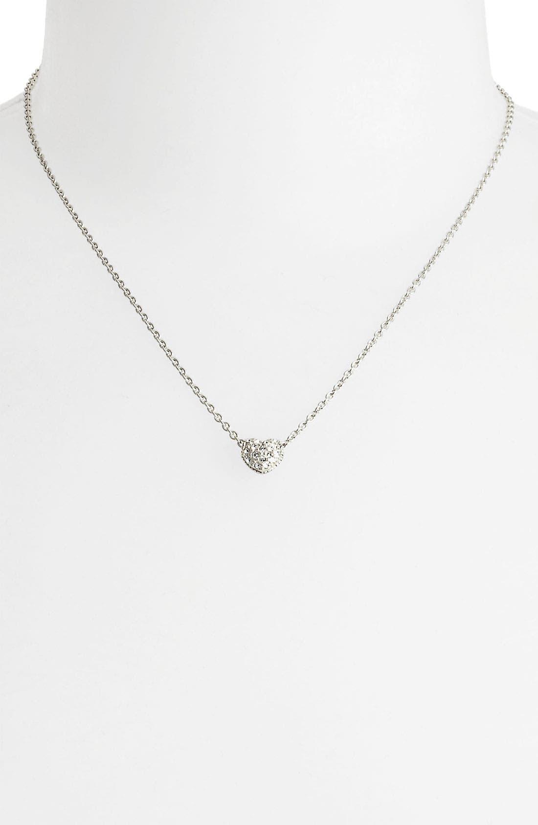 Alternate Image 2  - Judith Jack Reversible Pavé Heart Necklace