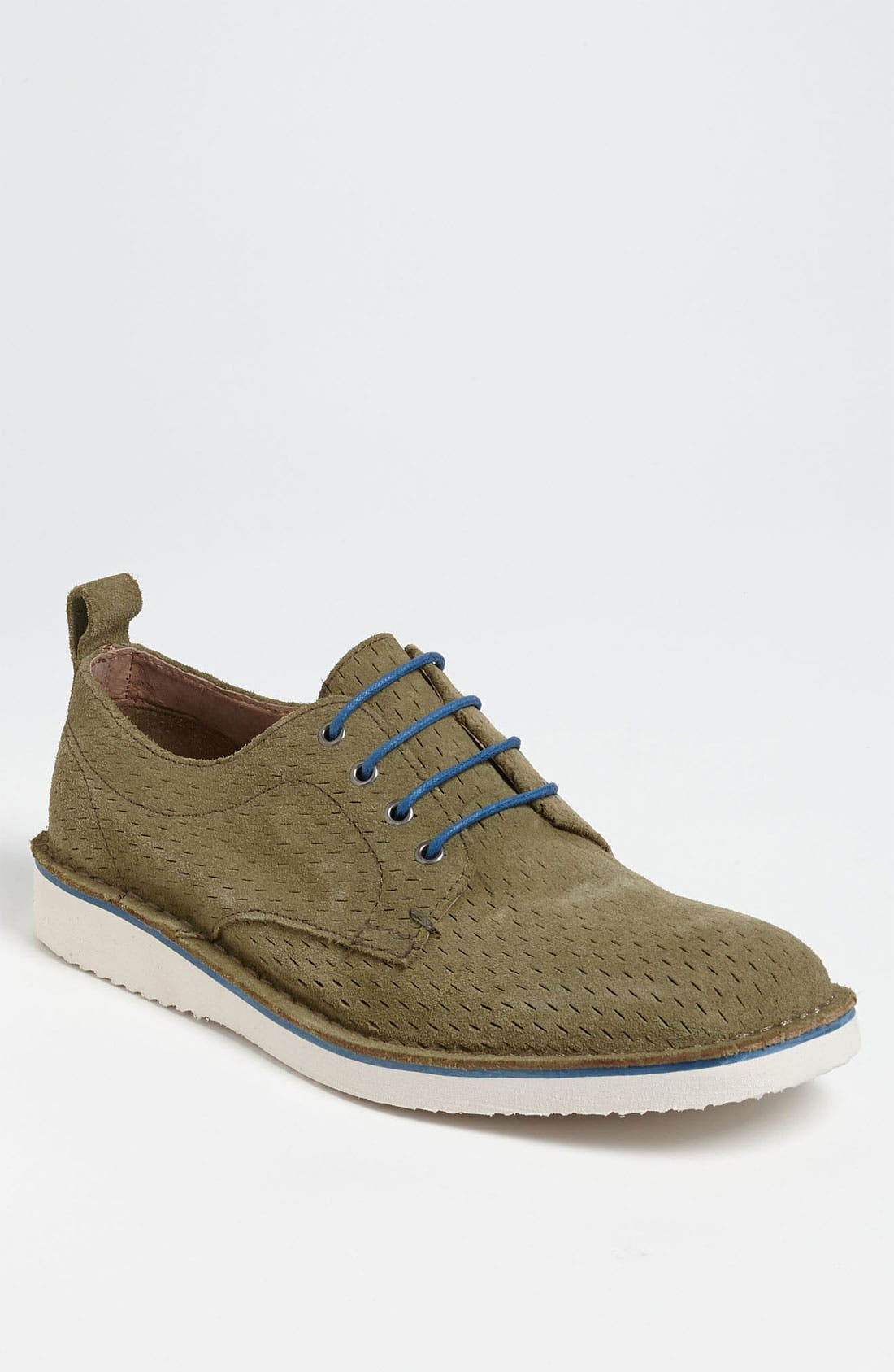 Alternate Image 1 Selected - Andrew Marc 'Baxter' Perforated Buck Shoe (Men)