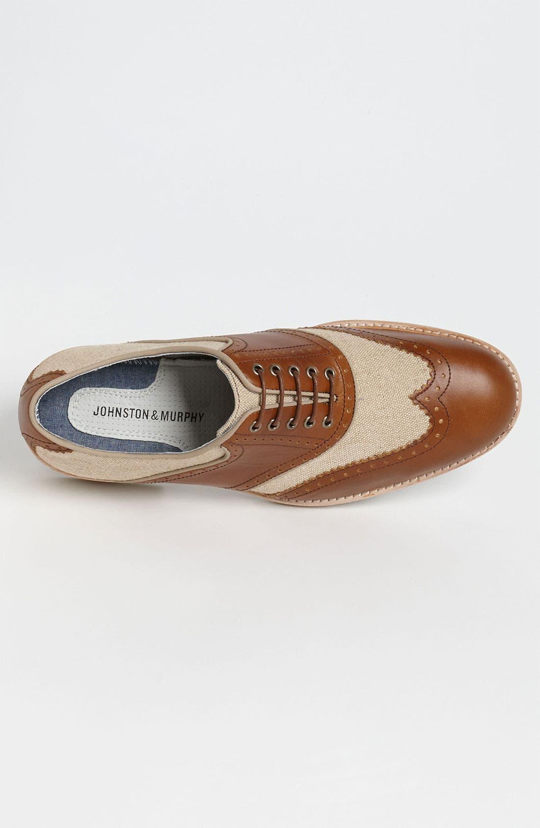 Alternate Image 3  - Johnston & Murphy 'Ellington' Spectator Shoe