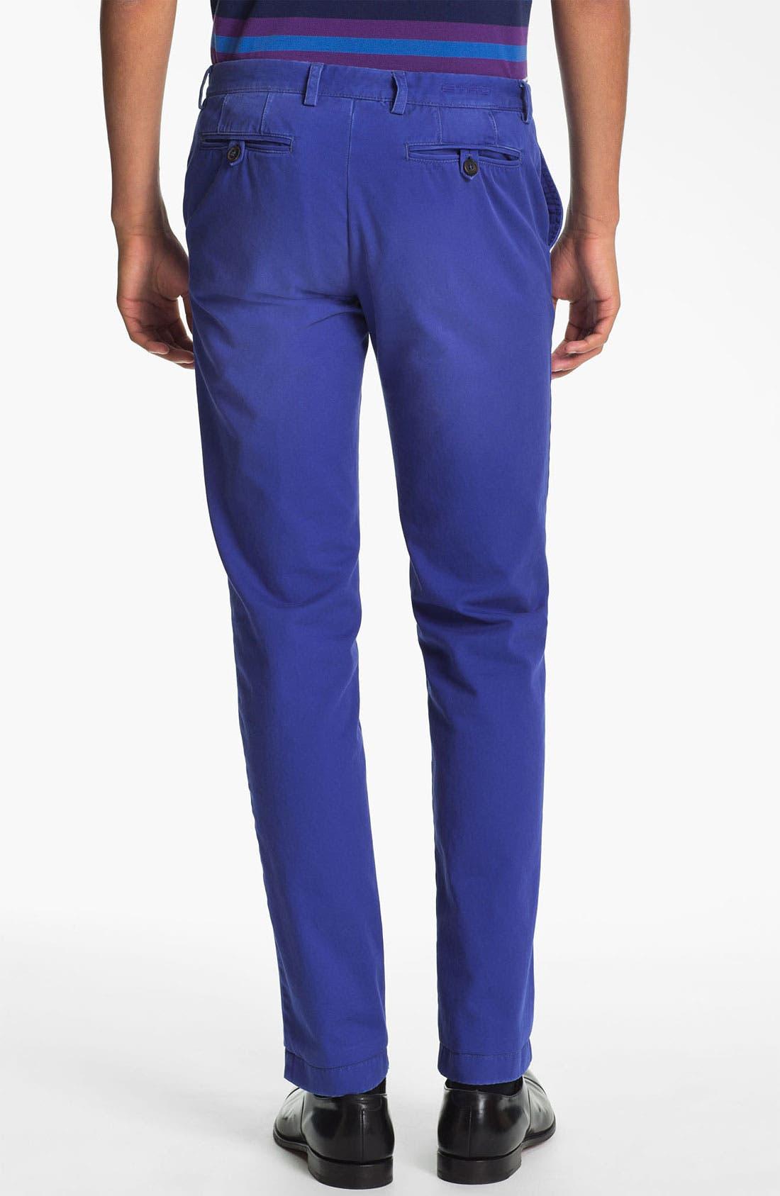 Alternate Image 2  - Etro 'Cuba Sabbiato' Slim Fit Pants