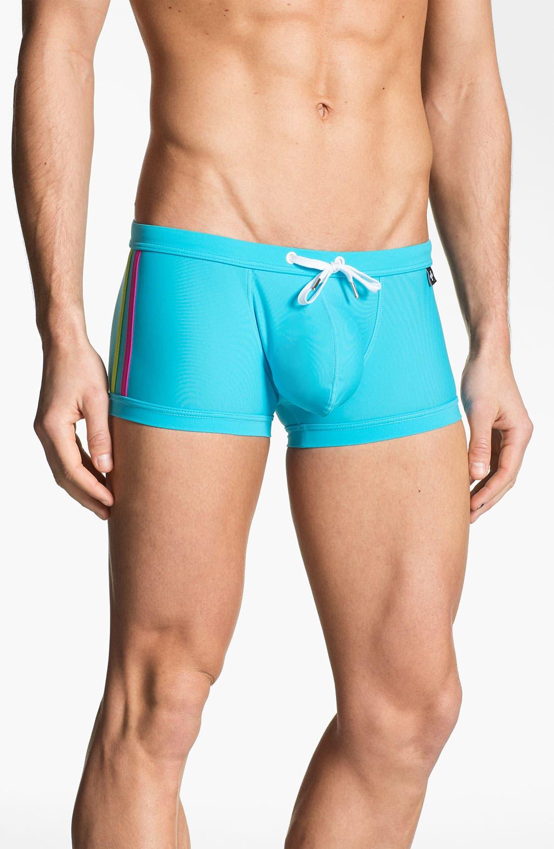 Alternate Image 1 Selected - Andrew Christian 'Almost Naked - Triathlon' Swim Trunks