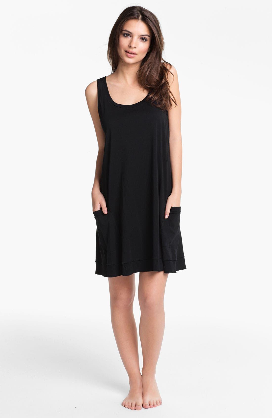 Alternate Image 1 Selected - Donna Karan 'Casual Luxe' Sleep Shirt
