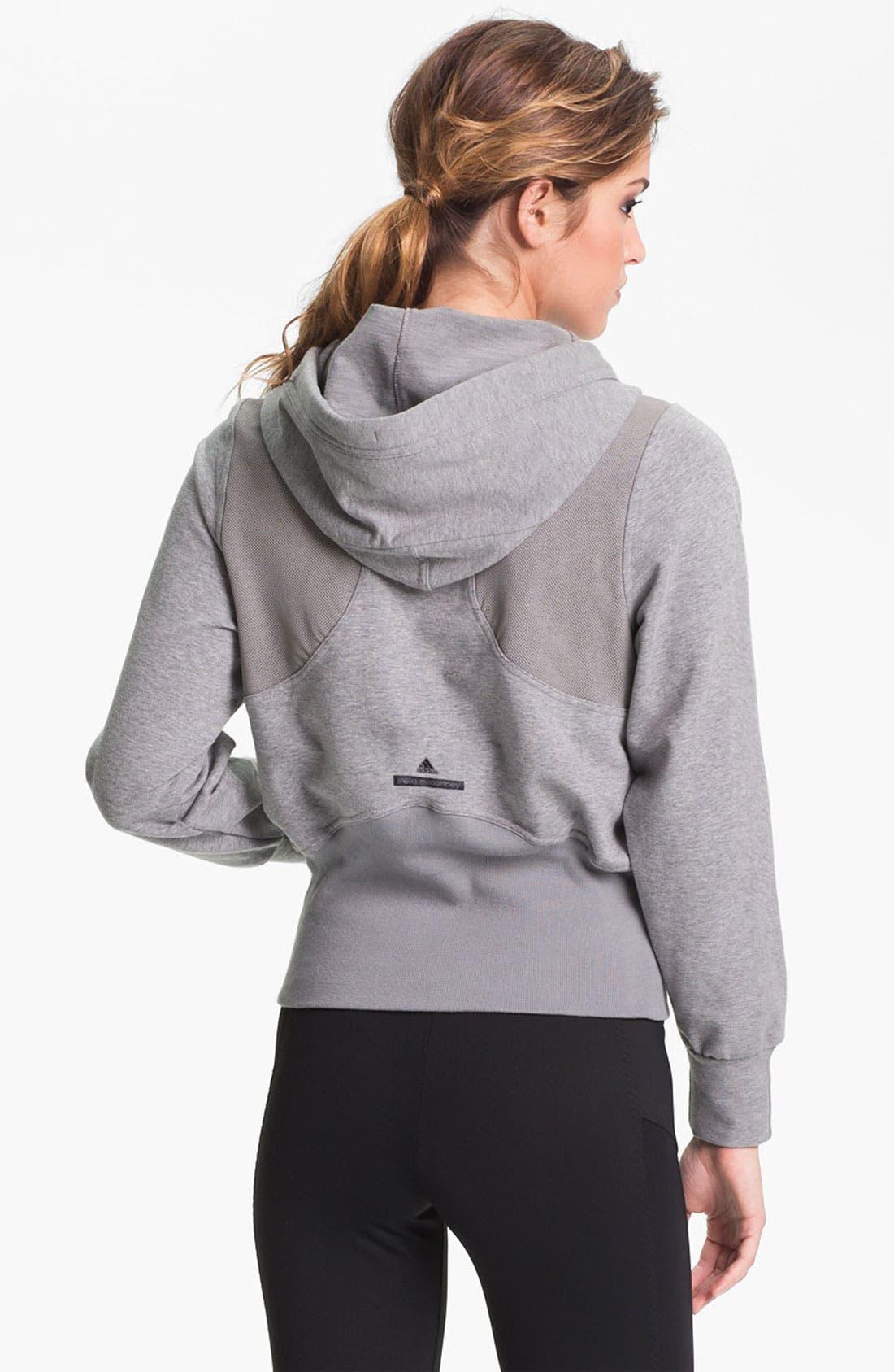 Alternate Image 2  - adidas by Stella McCartney 'Run Performance' Hoodie