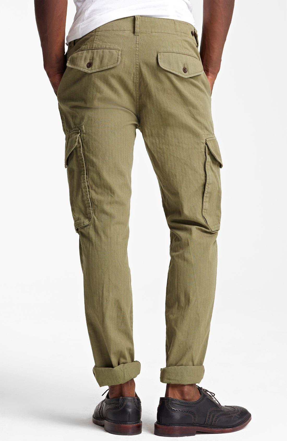 Alternate Image 2  - Todd Snyder Slim Fit Infantry Pants