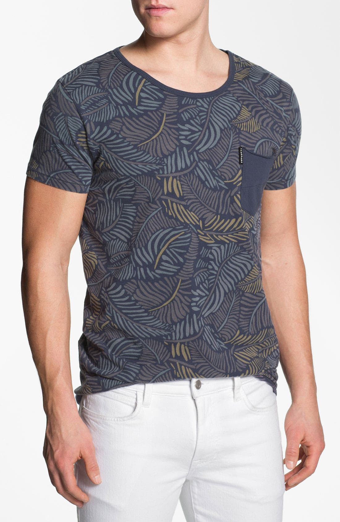 Alternate Image 1 Selected - Zanerobe 'Poleho' Allover Print Pocket T-Shirt