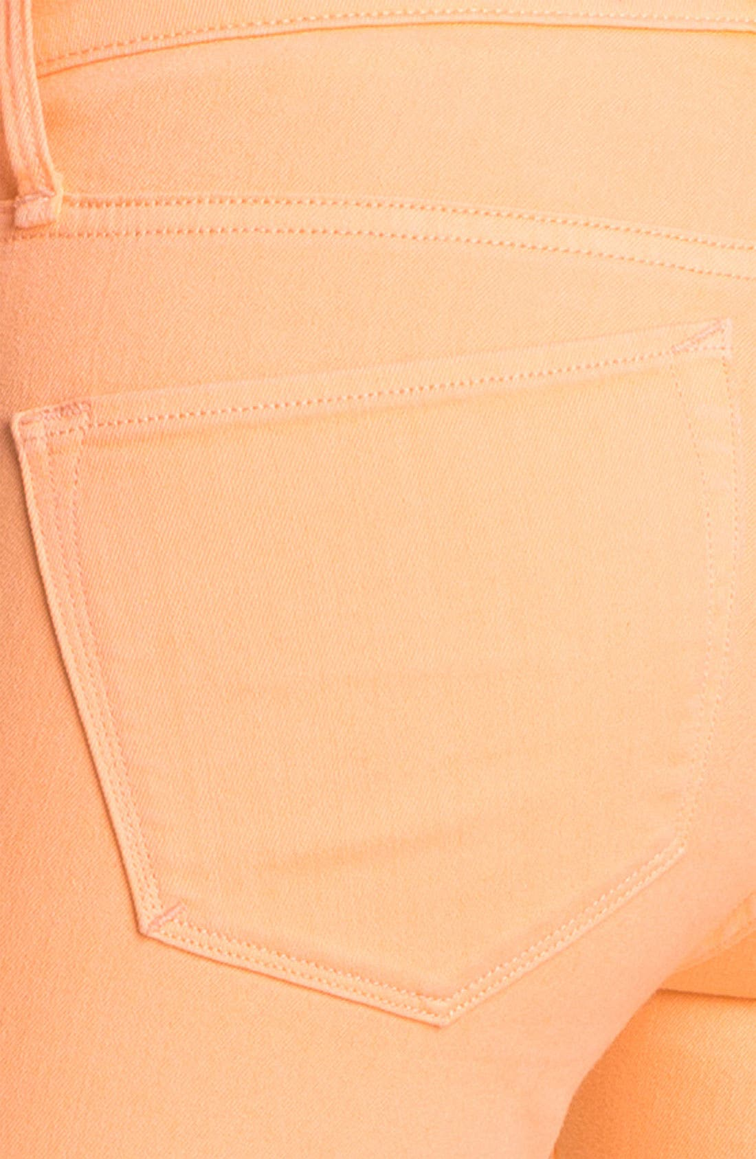 Alternate Image 3  - MARC BY MARC JACOBS 'Gaia' Colored Super Skinny Stretch Jeans (Apricot)