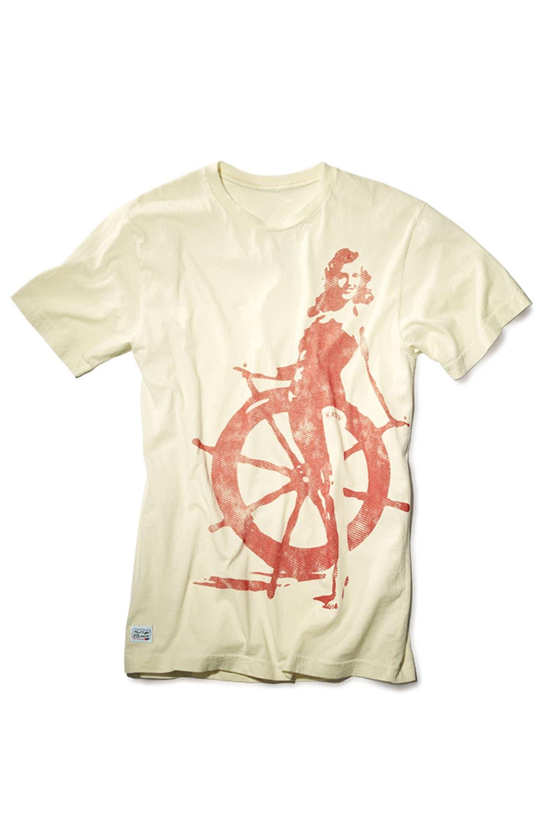 Alternate Image 4  - Katin 'Wench' Graphic T-Shirt