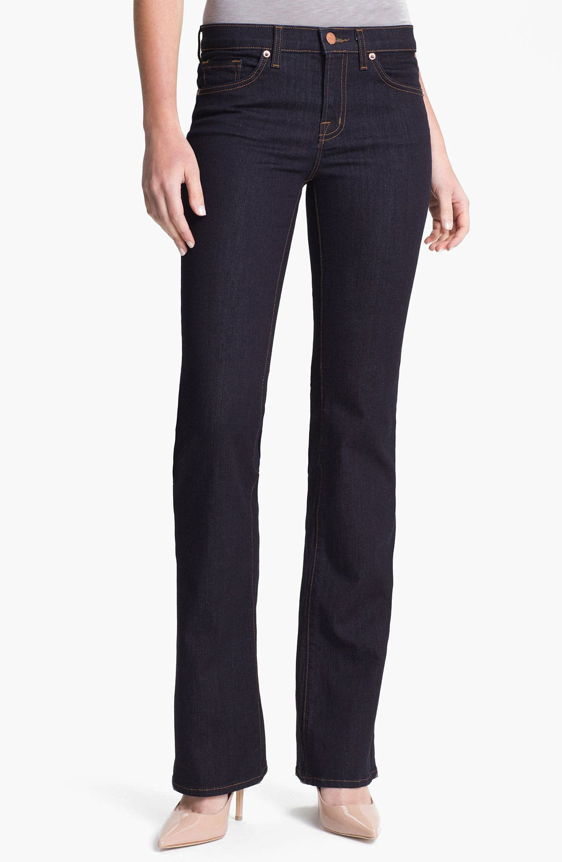 Alternate Image 1 Selected - J Brand Slim Bootcut Stretch Jeans (Starless Wash)