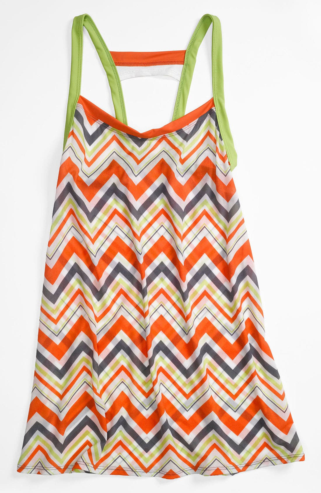 Alternate Image 1 Selected - BCA Chevron Stripe Cover-Up Dress