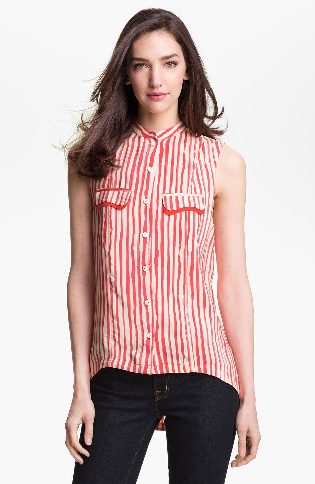 Alternate Image 1 Selected - Rebecca Minkoff 'Ethan' Silk Top
